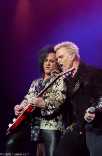 Billy Idol and Steve Stevens perform at the Grand Sierra in Reno, NV.